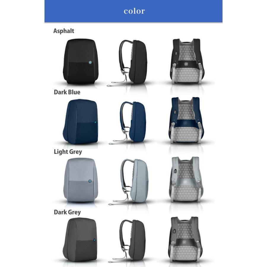 リュック ドイツ発 通勤 を楽にする バックパック 大容量 ビジネス USB 軽量 レインカバー 盗難防止 ビジネスリュック|stylecompany|12