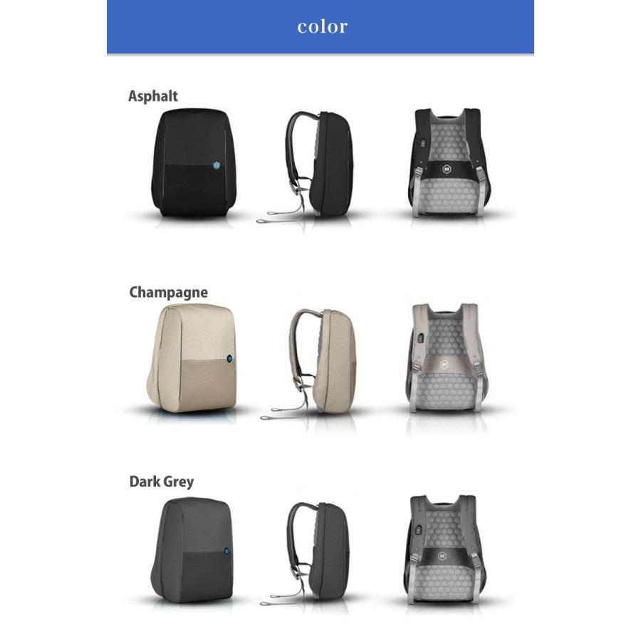 リュック ドイツ発 通勤 を楽にする バックパック 大容量 ビジネス USB 軽量 レインカバー 盗難防止 ビジネスリュック|stylecompany|13