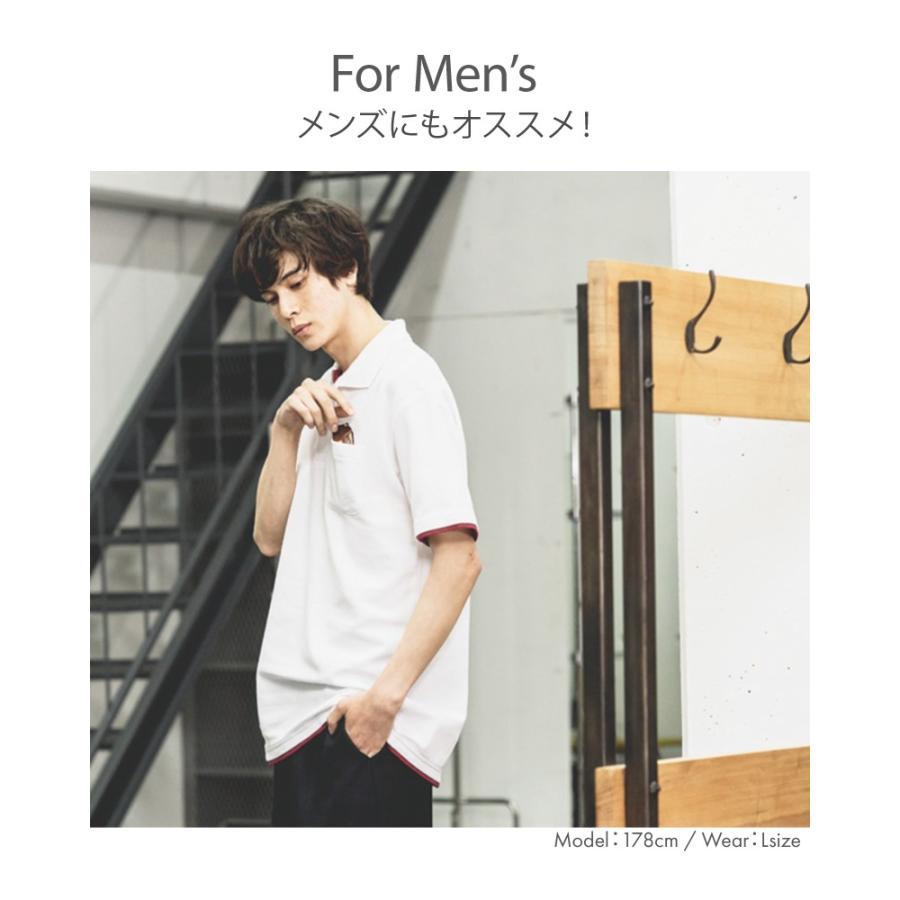 ポロシャツ レディース (ユニセックス) かわいい 半袖 ドライ 介護 ゴルフ ネイビー 白 黒 制服 メンズ 形状安定 UVカット 吸汗速乾 styleequal 10