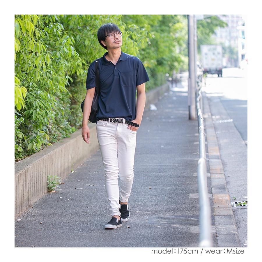 ポロシャツ レディース (ユニセックス) かわいい 半袖 ドライ ポケット 介護 ゴルフ ネイビー 白 黒 制服 仕事 メンズ 吸汗 速乾|styleequal|15