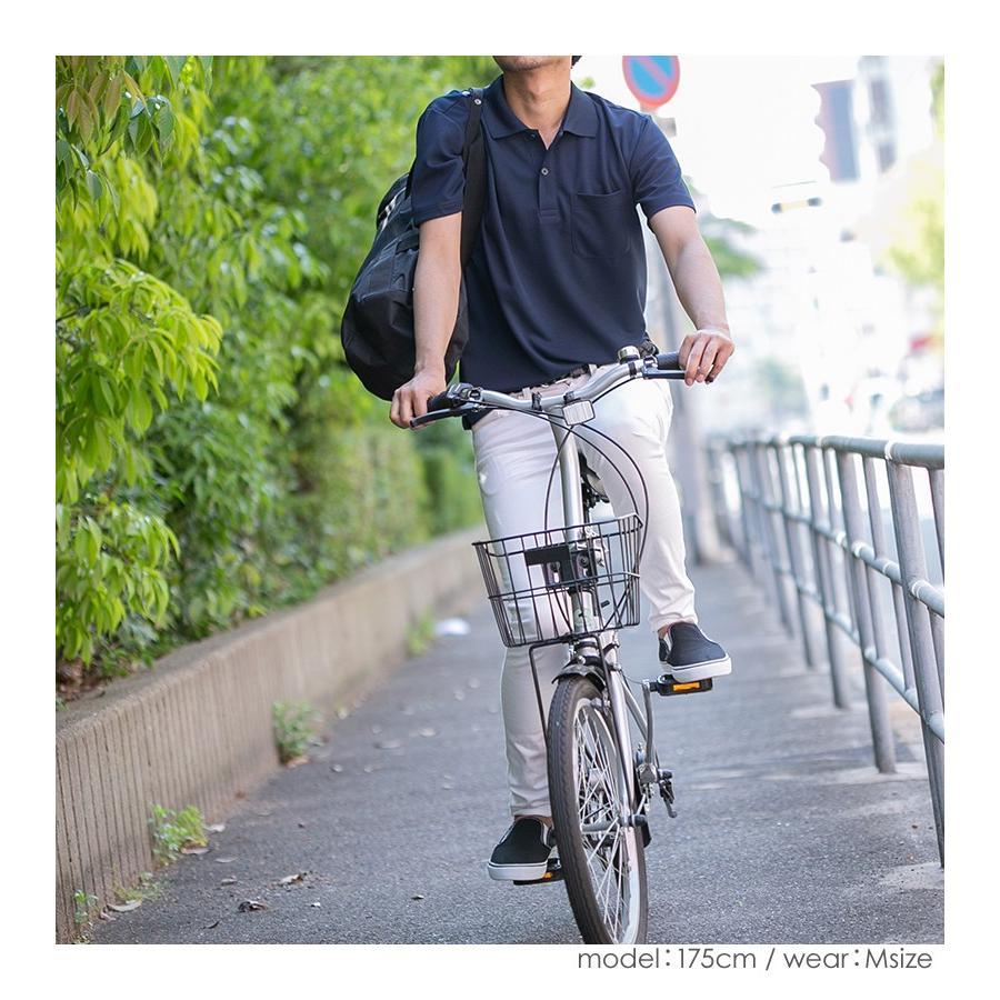 ポロシャツ レディース (ユニセックス) かわいい 半袖 ドライ ポケット 介護 ゴルフ ネイビー 白 黒 制服 仕事 メンズ 吸汗 速乾|styleequal|16