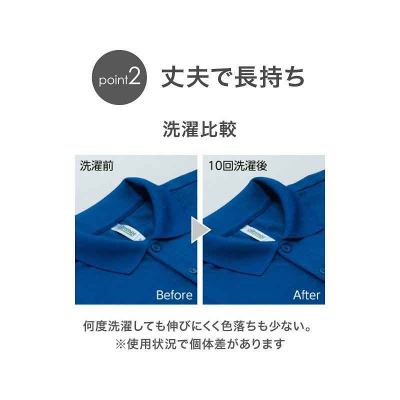 ポロシャツ レディース (ユニセックス) かわいい 半袖 ドライ ポケット 介護 ゴルフ ネイビー 白 黒 制服 仕事 メンズ 吸汗 速乾|styleequal|09
