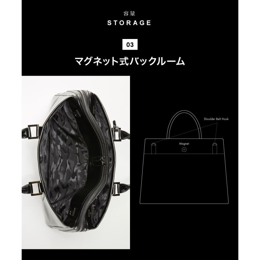 ビジネスバッグ メンズ バッグ ビジネス ブリーフケース パソコン PCバッグ 2WAY ショルダーベルト A4【STYLE=完全オリジナル】MIDNIGHT BLACK styleequal 16
