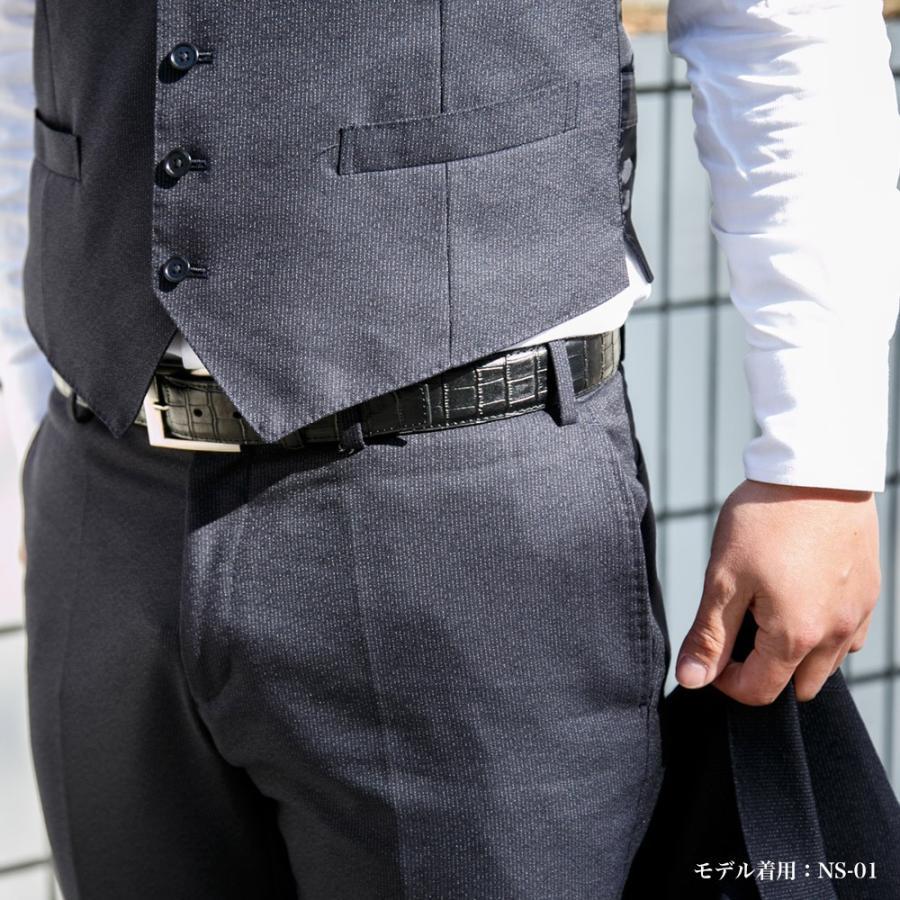 ベルト メンズ レザー 牛革ベルト 本革ベルト カジュアルベルト 紳士ベルト ゴルフベルト|styleequal|03