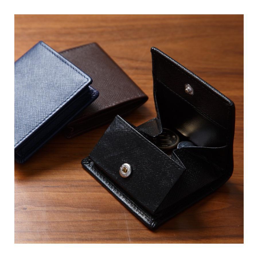 小銭入れ コインケース メンズ レディース 革 かわいい おしゃれ 小さい コンパクト 出しやすい スナップボタン styleequal 17