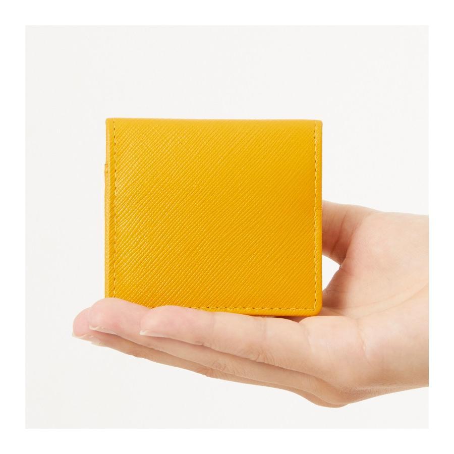 小銭入れ コインケース メンズ レディース 革 かわいい おしゃれ 小さい コンパクト 出しやすい スナップボタン styleequal 07