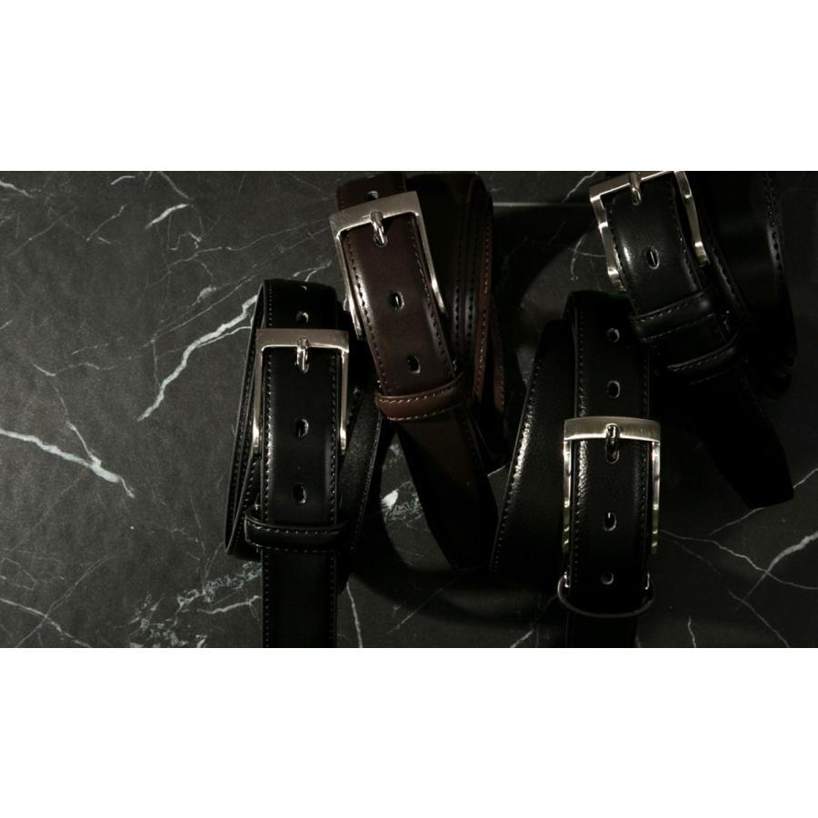 ベルト ビジネス メンズ ビジネスベルト 牛革 レザー ブラック 黒 おしゃれ|styleequal|02