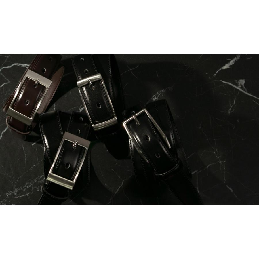 ベルト ビジネス メンズ ビジネスベルト 牛革 レザー ブラック 黒 おしゃれ|styleequal|03