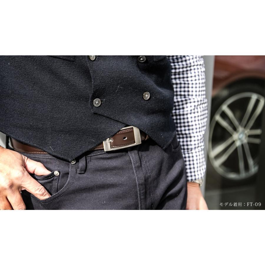 ベルト ビジネス メンズ ビジネスベルト 牛革 レザー ブラック 黒 おしゃれ|styleequal|06