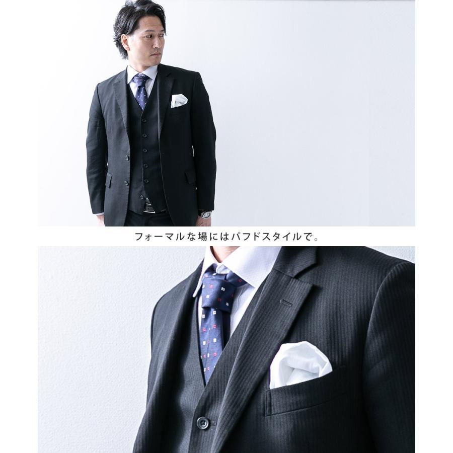 ポケットチーフ 結婚式 には 正統な リネン 麻 ホワイト 白 無地 日本製 フォーマル|styleequal|06