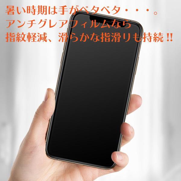 iPhoneSE第2世代 12/12Pro 表面さらさら アンチグレア マット加工 ゲーム最適 スムーズタッチ 全面保護 11/11Pro/11ProMax stylemartnet 10