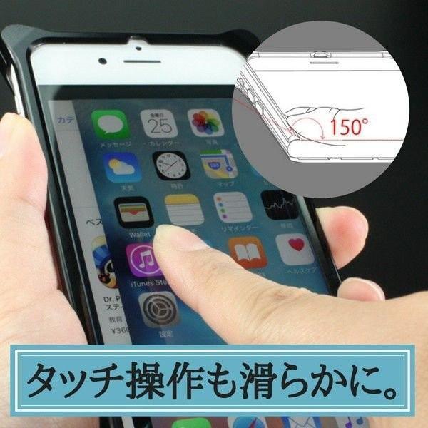 iPhoneSE第2世代 iPhone8 iPhone7 バンパー 耐衝撃 ケース アルミ ギルドデザイン|stylemartnet|14