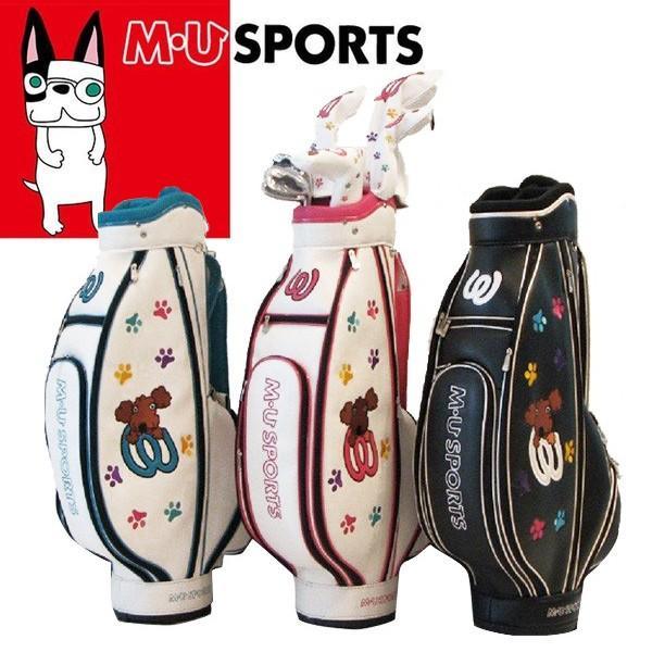 MU SPORTS MUスポーツ 703W6900R レディース ゴルフ 13点 ハーフセット クラブ8本+キャディバッグ付 2018秋冬新作 NEW MU18AW W0110