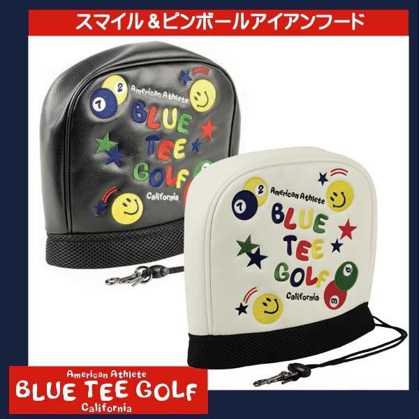BLUE TEE GOLF ブルーティーゴルフ ピンボール &スマイル アイアンカバー 全2色 styleon
