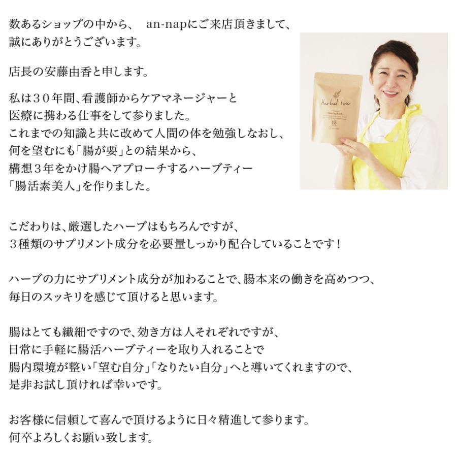 健康茶 ルイボスティー ハーブティー お茶 ダイエットティー 腸活 素美人 健康 リラックス 父の日 ダイエット キャンドルブッシュ 4袋セット 3g×60包 サプリ subijin 03