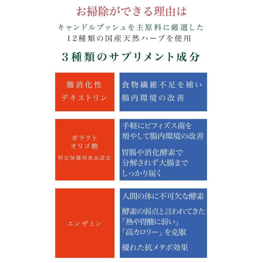 健康茶 ルイボスティー ハーブティー お茶 ダイエットティー 腸活 素美人 健康 リラックス 父の日 ダイエット キャンドルブッシュ 4袋セット 3g×60包 サプリ subijin 06