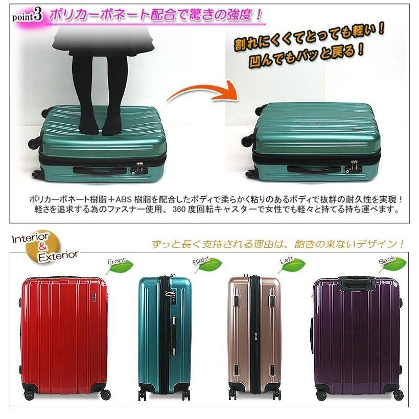 スーツケース 人気 大型 超軽量 アレッタ【在庫処分SALE】|success|04