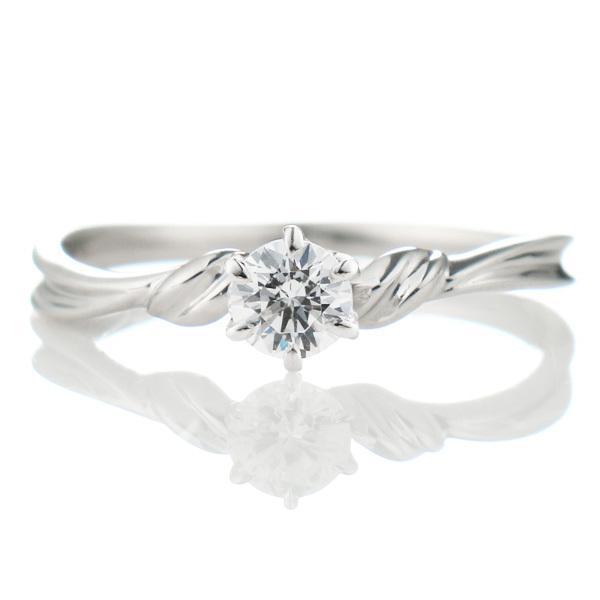 婚約指輪 ダイヤモンド 0.3カラット プラチナ エンゲージリング プロポーズリング【今だけ代引手数料無料】|suehiro|02