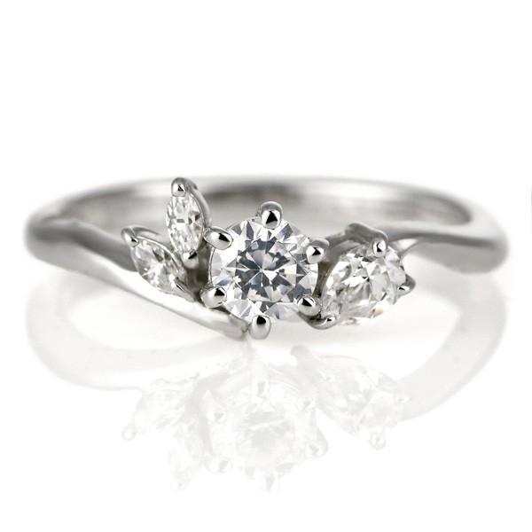 素晴らしい 婚約指輪 ダイヤモンド プラチナ リング 天然石 エンゲージリング 鑑別書 セール, クンネップチョウ e51c28de