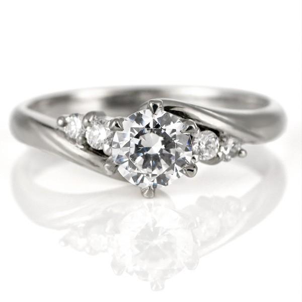 100%本物 婚約指輪 ダイヤモンド プラチナ リング 天然石 エンゲージリング 鑑別書 セール, 【税込】 22eb8305
