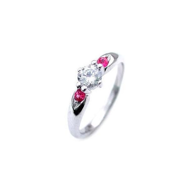 驚きの値段で エンゲージリング 婚約指輪 ダイヤモンド ダイヤ プラチナ リング ルビー 0.35ct セール, Fascino d472a5ef