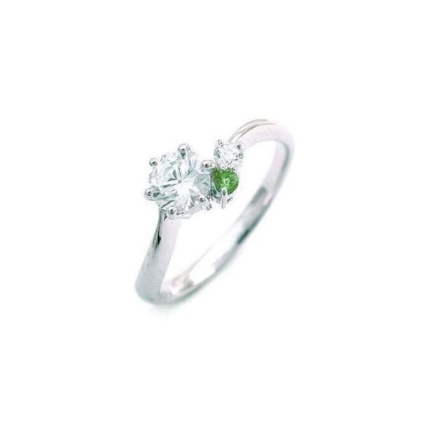 美品  婚約指輪 エンゲージリング ダイヤモンド ダイヤ リング 指輪 人気 ダイヤ プラチナ リング ペリドット 0.35ct セール, バッグのソンリッサ 369f2e83