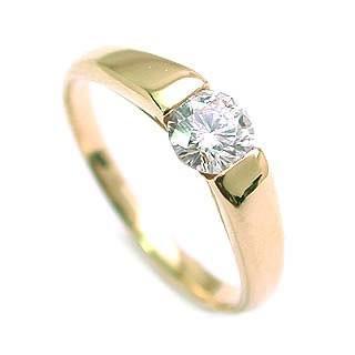 お買い得モデル 婚約指輪 ダイヤモンド リング 埋め込み ダイヤ エンゲージリング ダイヤモンド ダイヤリング K18イエローゴールド SIクラス0.20ct 鑑定書付き セール, 池田洋品店 14acc7cd