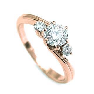 【着後レビューで 送料無料】 婚約指輪 ダイヤモンド ダイヤ リング エンゲージリング K18ピンクゴールド VSクラス 0.20ct 鑑定書付 セール, FESTA(インテリア雑貨) dd064154