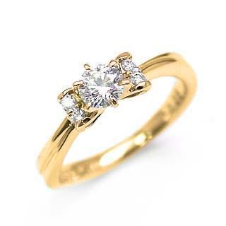 輝く高品質な 婚約指輪 ダイヤモンド ダイヤ リング エンゲージリング K18イエローゴールド SIクラス 0.20ct 鑑定書付 セール, 防災用品災害対策 ピースアップ b4db82b1