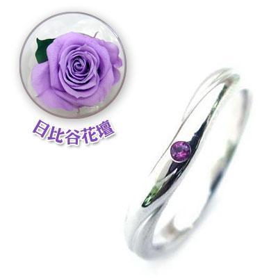 ー品販売  結婚指輪 マリッジリング ペアリング2月誕生石 アメジスト 限定 日比谷花壇誕生色バラ付 セール, スポーツフュージョン 1faaffb3