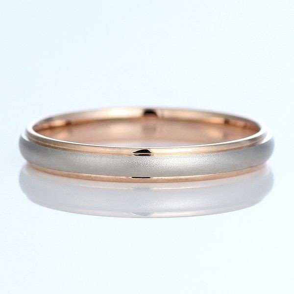 【高価値】 メンズ リング Brand Jewelry Oferta プラチナ950 K18ピンクゴールドメンズ リング 結婚指輪 セール, 鴻巣市 8611aaa5