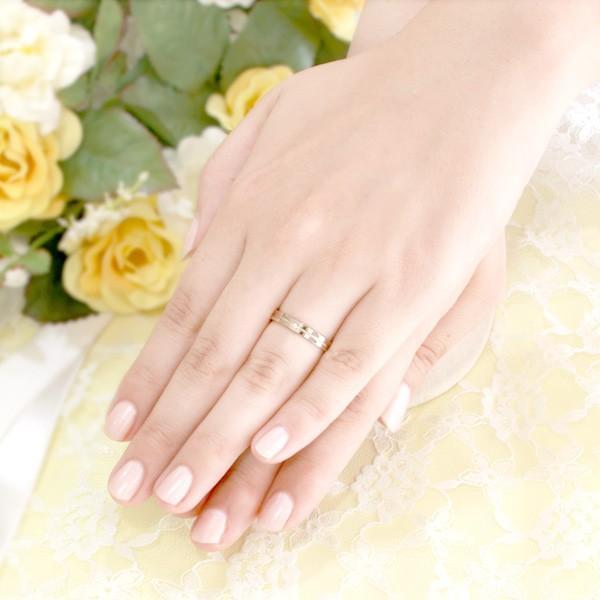 結婚指輪 マリッジリング ペアリング ダイヤモンド K18ハニーイエローゴールド Lemon 人気 【2本セット】 ブランド【今だけ代引手数料無料】|suehiro|02