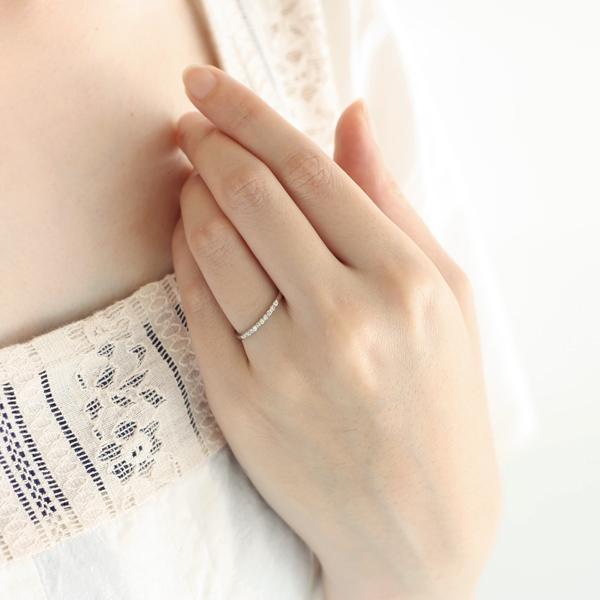 エタニティリング ダイヤモンド プラチナ【今だけ代引手数料無料】|suehiro|02