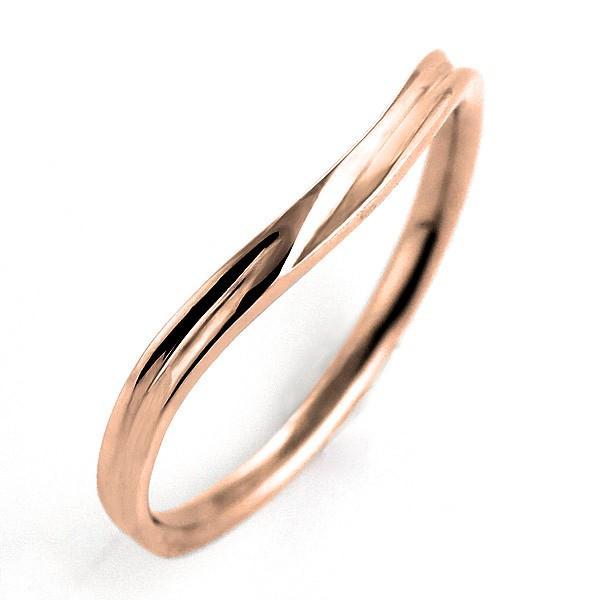 2019春の新作 結婚指輪 安い マリッジリング ピンクゴールド リング 名入れ 文字入れ 刻印 18金 ゴールド スイートマリッジ セール, 大きいサイズメーカー直販Hot-air 264560cb