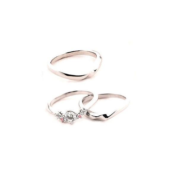 直送商品 Brand Jewelry fresco プラチナ ダイヤモンドリング 婚約指輪 結婚指輪 セール, 朽木村 f1a1d944