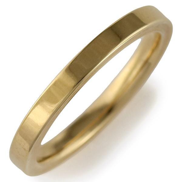 18金 指輪Italian Brand Jewelry ウノアエレK18イエローゴールド ペアリング【今だけ代引手数料無料】|suehiro|02