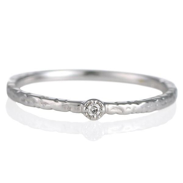 激安価格の リング 18金 K18 ホワイトゴールド ダイヤモンド 0.01ct セール, barret baa80953