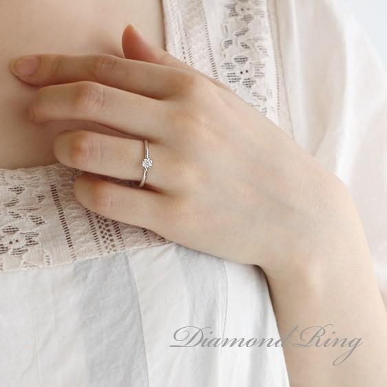 指輪レディース ダイヤモンド指輪 ダイヤモンド リング プラチナ ダイヤモンドリング 指輪 花びら【今だけ代引手数料無料】|suehiro|10