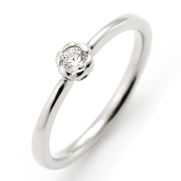 指輪レディース ダイヤモンド指輪 ダイヤモンド リング プラチナ ダイヤモンドリング 指輪 花びら【今だけ代引手数料無料】|suehiro|02