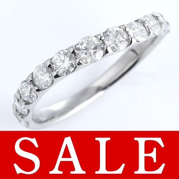 指輪レディース ダイヤモンド指輪 エタニティリング 1カラット ダイヤモンド リング プラチナ エタニティ リング【今だけ代引手数料無料】|suehiro