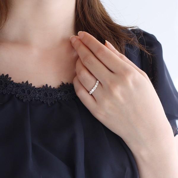 指輪レディース ダイヤモンド指輪 エタニティリング 1カラット ダイヤモンド リング プラチナ エタニティ リング【今だけ代引手数料無料】|suehiro|02