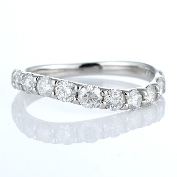 指輪レディース ダイヤモンド指輪 エタニティリング 1カラット ダイヤモンド リング プラチナ エタニティ リング【今だけ代引手数料無料】|suehiro|05