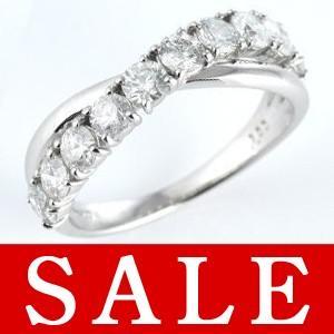 指輪レディース ダイヤモンド指輪 エタニティリング 1カラット ダイヤモンド プラチナ エタニティ リング【今だけ代引手数料無料】|suehiro