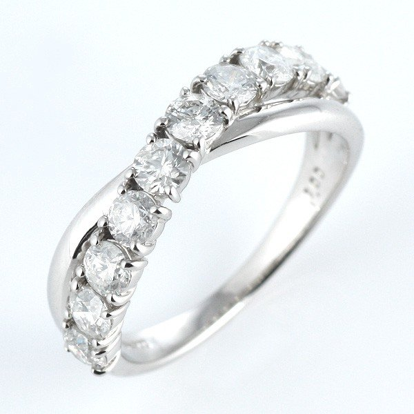 指輪レディース ダイヤモンド指輪 エタニティリング 1カラット ダイヤモンド プラチナ エタニティ リング【今だけ代引手数料無料】|suehiro|05