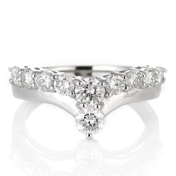 指輪レディース ダイヤモンド指輪 ダイヤモンド リング プラチナ ダイヤモンドリング 1カラット 鑑別書付【今だけ代引手数料無料】|suehiro