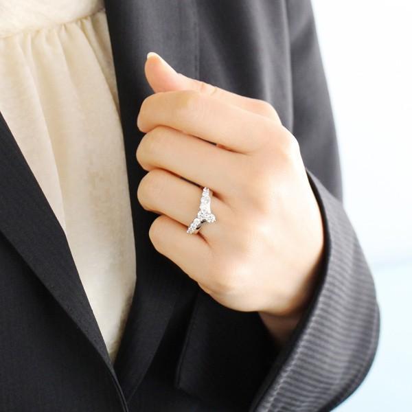 指輪レディース ダイヤモンド指輪 ダイヤモンド リング プラチナ ダイヤモンドリング 1カラット 鑑別書付【今だけ代引手数料無料】|suehiro|04