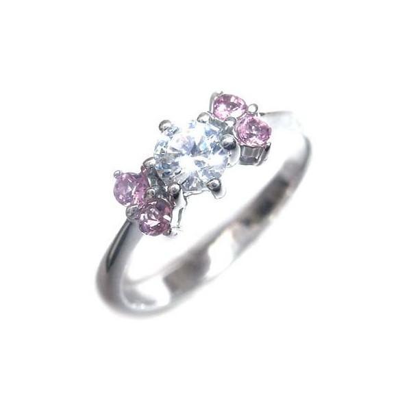 ●日本正規品● 婚約指輪 ダイヤモンド プラチナリング 一粒 大粒 指輪 エンゲージリング 0.45ct プロポーズ用 レディース 人気 ダイヤ 刻印無料 10月 誕生石 ピンクトルマリン, ハッピーファッションストア ac4699b7