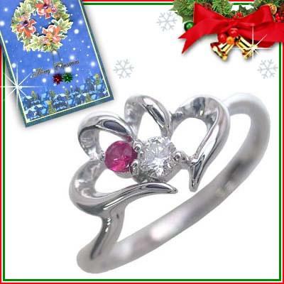 再再販! ルビー 指輪 セール クリスマス限定Xmasカード付7月誕生石K10ホワイトゴールド ルビーリング ルビーリング ハート ルビー セール, 風水火山:fcf2ff6c --- airmodconsu.dominiotemporario.com