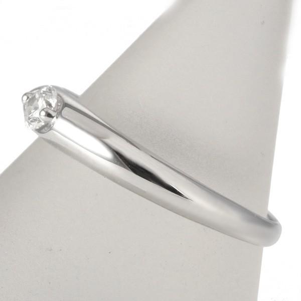 ダイヤモンド リング プラチナ ダイヤ レディース 婚約指輪 安い エンゲージリング -QP【今だけ代引手数料無料】 suehiro 14