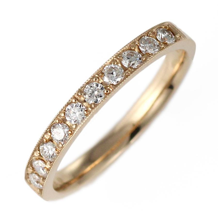 指輪レディース ダイヤモンド指輪 エタニティリング ダイヤモンド ピンクゴールド リング 指輪 0.3 カラット 18金 結婚 婚約 10年目【今だけ代引手数料無料】 suehiro 05